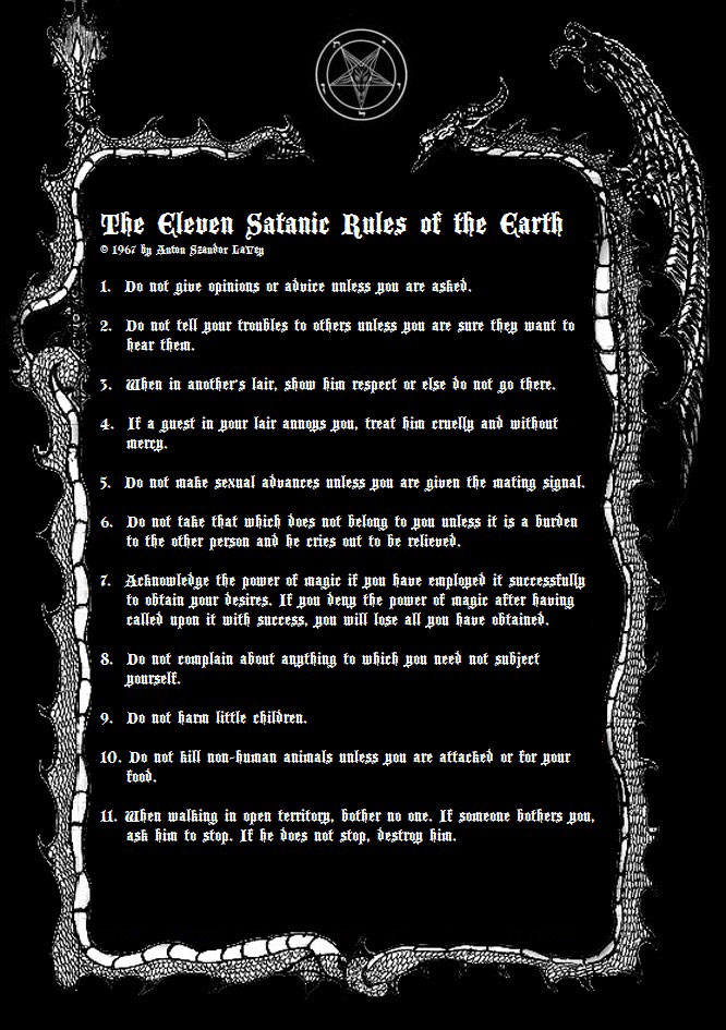 Downloads | Church of Satan