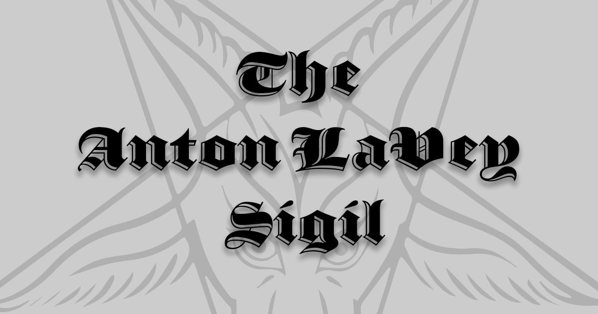 The Anton LaVey Sigil | Church of Satan