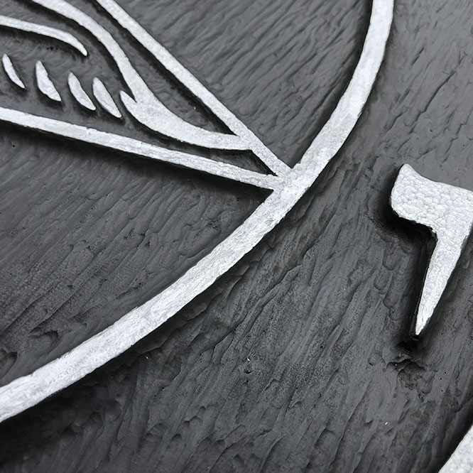 Church of Satan Sigil of Baphomet 3D Wall Plaques by iSatanist