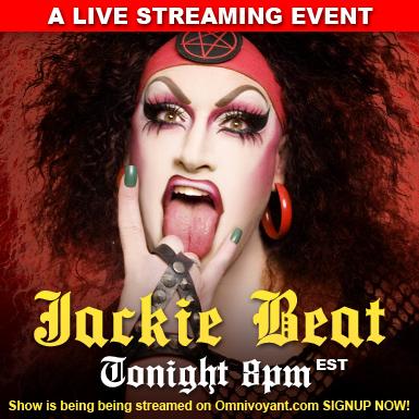 JACKIE BEAT: Streaming Live Tonight