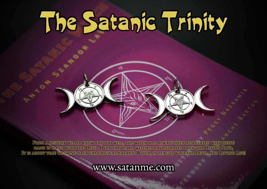 NEW! – The Satanic Trinity Medallion by Satanme