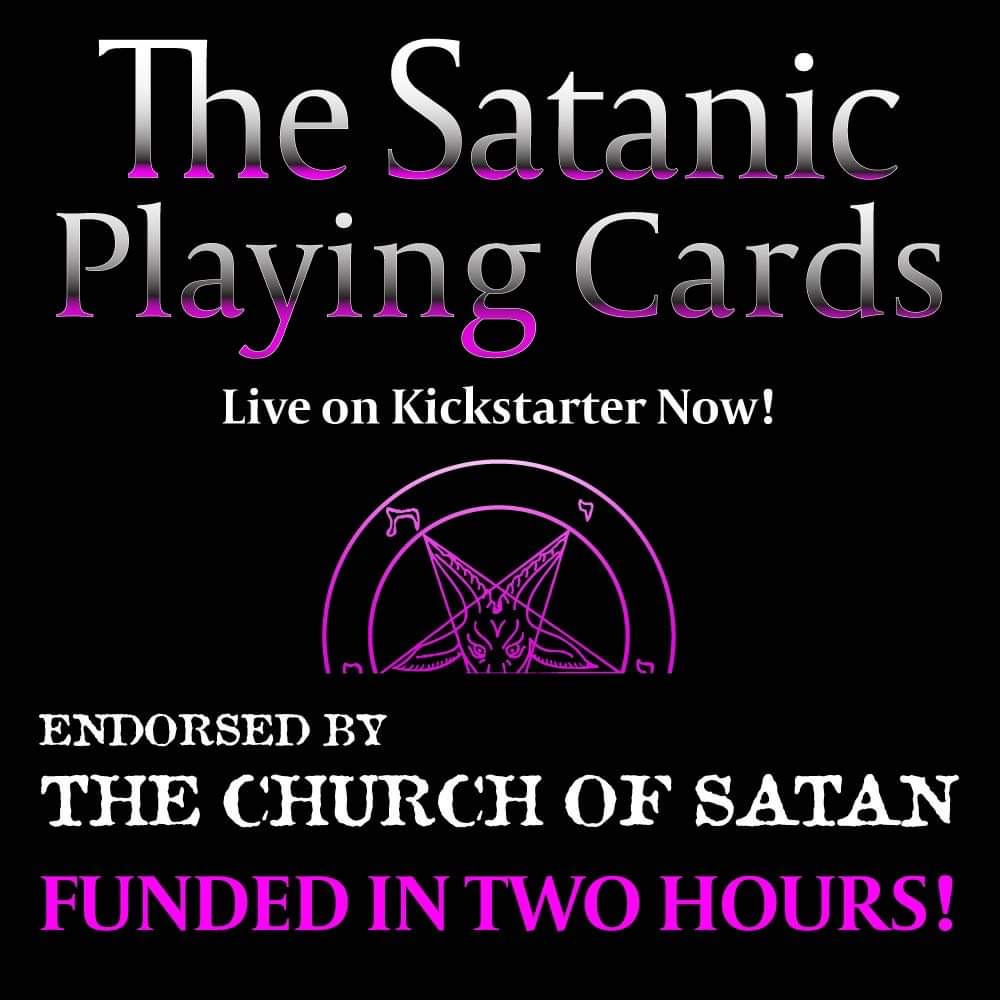 The Satanic Playing Cards Contest!