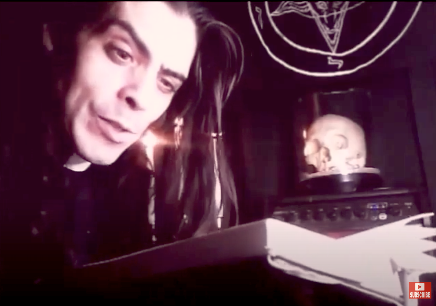 Count MoriVond reads from THE SATANIC SCRIPTURES