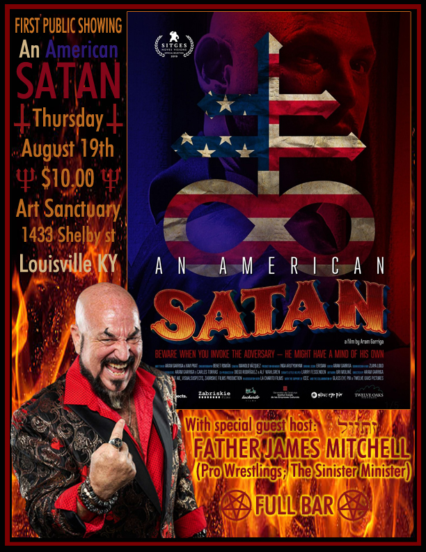 Radio Arcane presents AN AMERICAN SATAN, hosted by Father James Mitchell