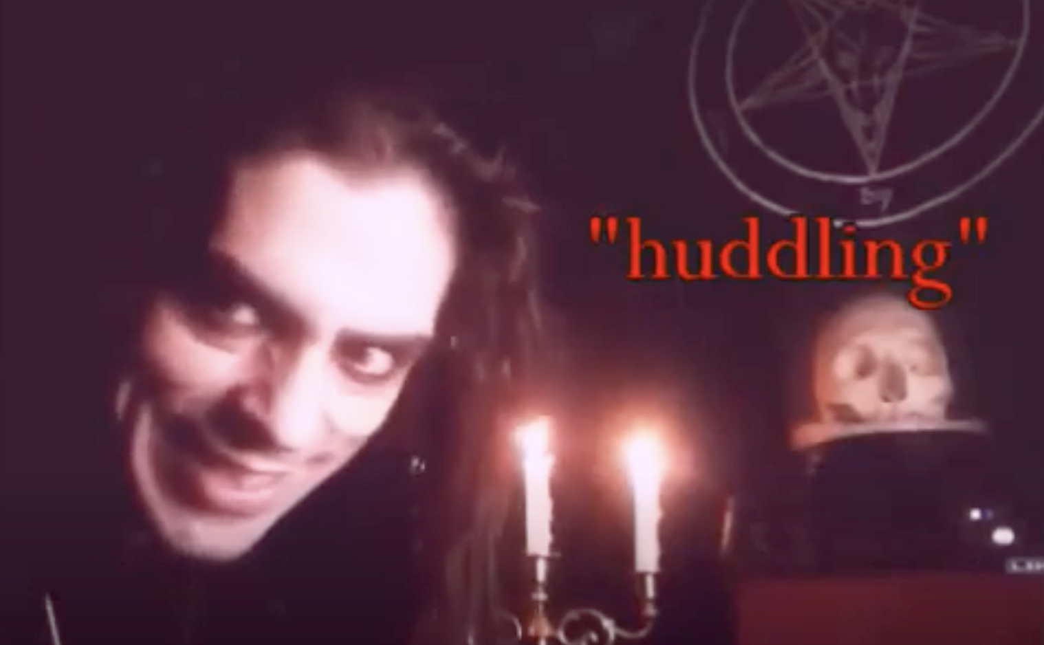 Reverend Count MoriVond reads from THE SATANIC SCRIPTURES